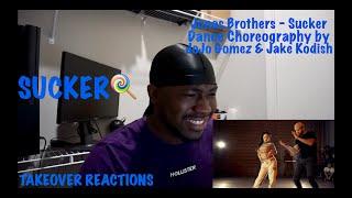 Jonas Brothers - Sucker - Dance Choreography by JoJo Gomez & Jake Kodish - REACTION