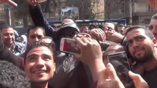 مصر العربية | محمد رمضان يثير أزمة فى شارع الدقى