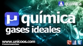 QUIMICA Gas ideal LEY de GAY LUSSAC 4ºESO unicoos volumen constante