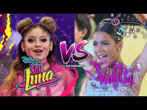 Soy Luna VS Violetta (DUELO DE CANCIONES) I ¿Cuál es tu Favorito? I Soy Luna Music