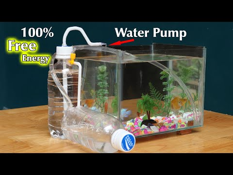 Free Energy Water Pump For Aquarium - Pump Water Without Electricity