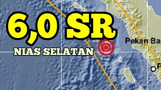 Download Video Gempa 6,0 magnitudo mengguncang Nias dan Sumatera hari ini MP3 3GP MP4