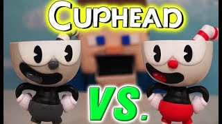 Cuphead Funko Pop Vinyl Toys Exclusive B&W vs Color Action Figure Set Rap Gameplay Review song