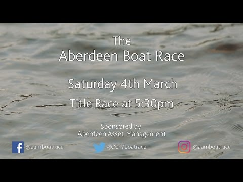 My Heart Will Row On - Aberdeen Boat Race 2017