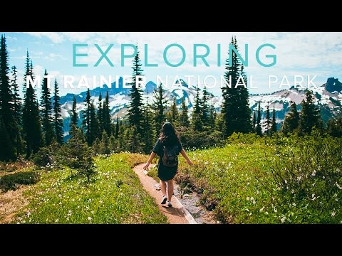 Exploring Mt Rainier National Park