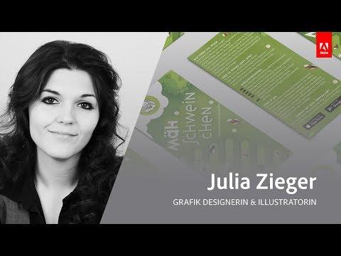 Live Grafikdesign und Illustration mit Julia Zieger - Adobe Live 1/3