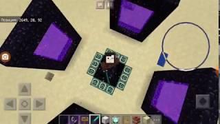 Забор с колючей проволокой в Minecraft PE