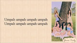 Red Velvet (레드벨벳) - Umpah Umpah (음파음파) Easy Lyrics