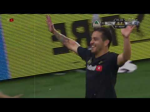 Rodolfo Zelaya Primer Gol Los Angeles F.C. #LAFC #MLS