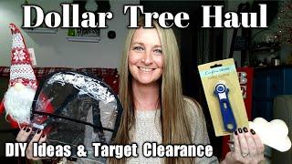 Dollar Tree Haul   DIY Ideas   Target Clearance   Nov 19