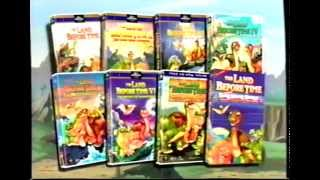 The Land Before Time More Sing-Along Songs and Movies (1988-1998) Trailer (VHS Capture)