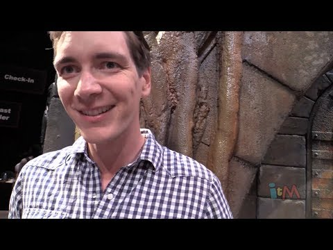 : James Phelps Fred Weasley talks Diagon Alley at Universal Orlando