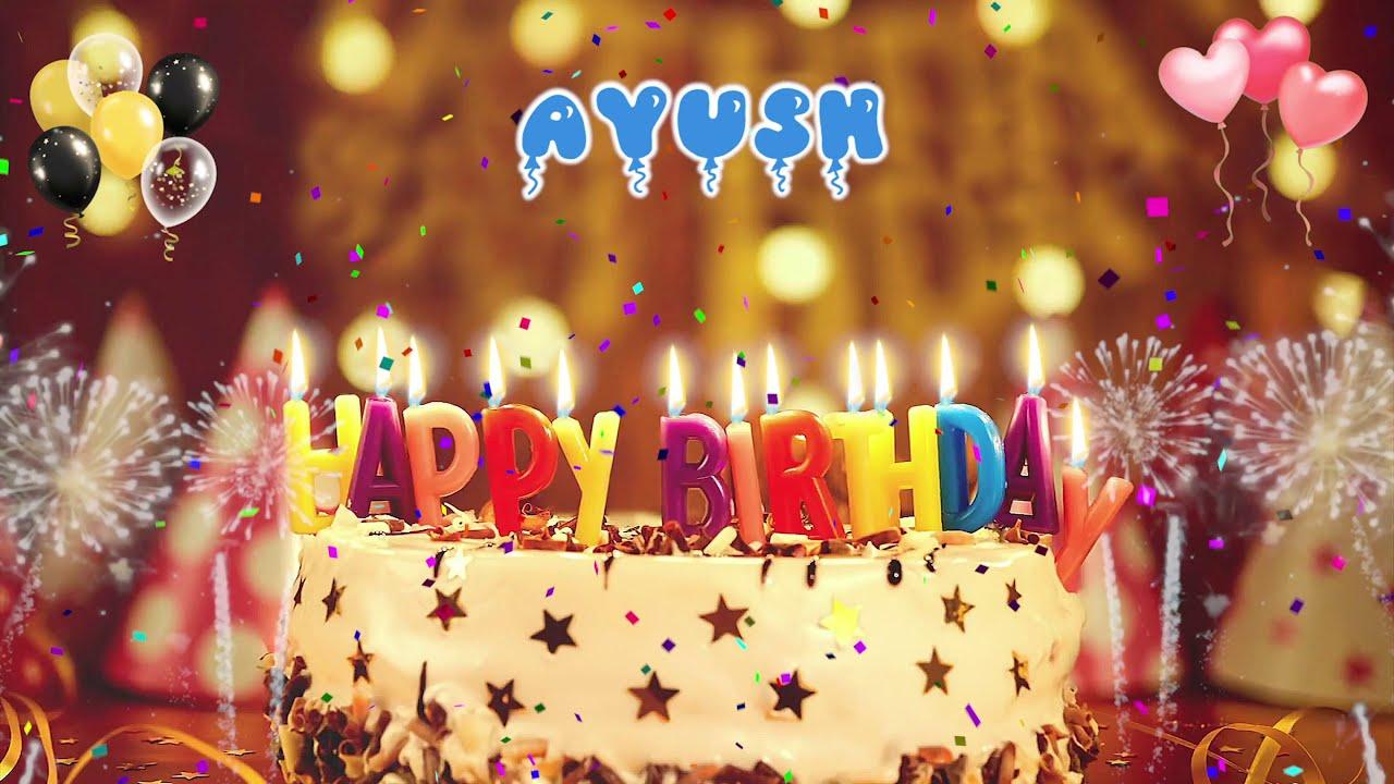Download AYUSH Birthday Song – Happy Birthday Ayush