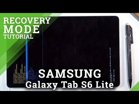 How to Open/Exit Recovery Mode in Samsung Galaxy Tab S6 Lite - Recovery Menu Options