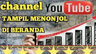 Cara membuat channel youtube tampil Menonjol dengan Ubah URL channel