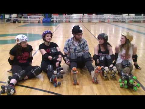 Zach Learns Coordination w/ the Cherry City Roller Derby