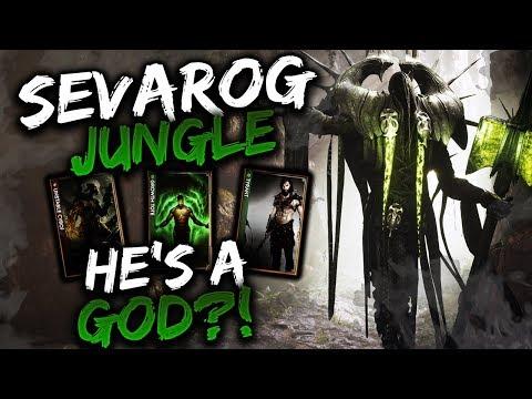 Paragon Sevarog V43 Gameplay - A NEW JUNGLE, A NEW GOD?!
