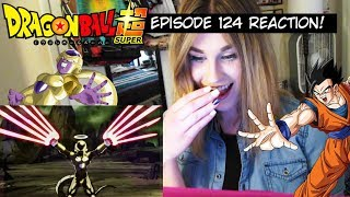 DYSPO VS FRIEZA AND GOHAN! Dragon Ball Super Episode 124 REACTION!