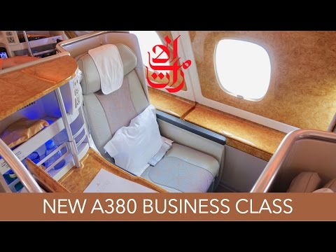 SHORT-HAUL LUXURY! Emirates A380 Brand New Business Class BK