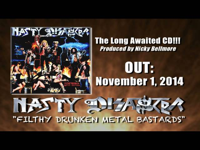 New NASTY DISASTER CD promotion