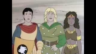Top 10 caricaturas clásicas olvidadas # 8: Calabozos y Dragones