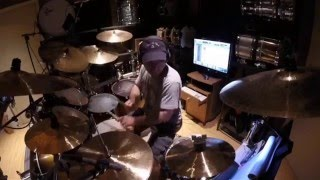 Paiste's Lee Levin In The Studio (Set Up Description and Performance)