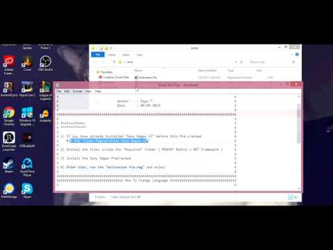 How To Get Sony Vegas Pro 13 FREE(Works 2017)