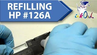 How to Refill HP #126A Cartridges for CP1025, M175nw, M275 (CE310A/CE311A/CE312A/CE313A)