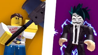 ADMIN vs HACKER - Roblox Animation