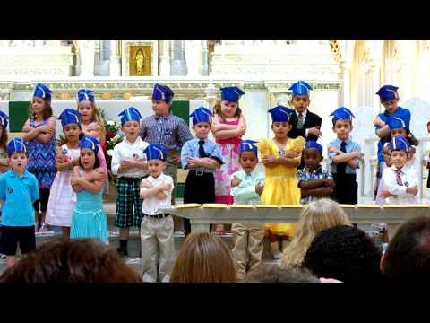 Friends are Like Flowers - Kindergarten Graduation 2010