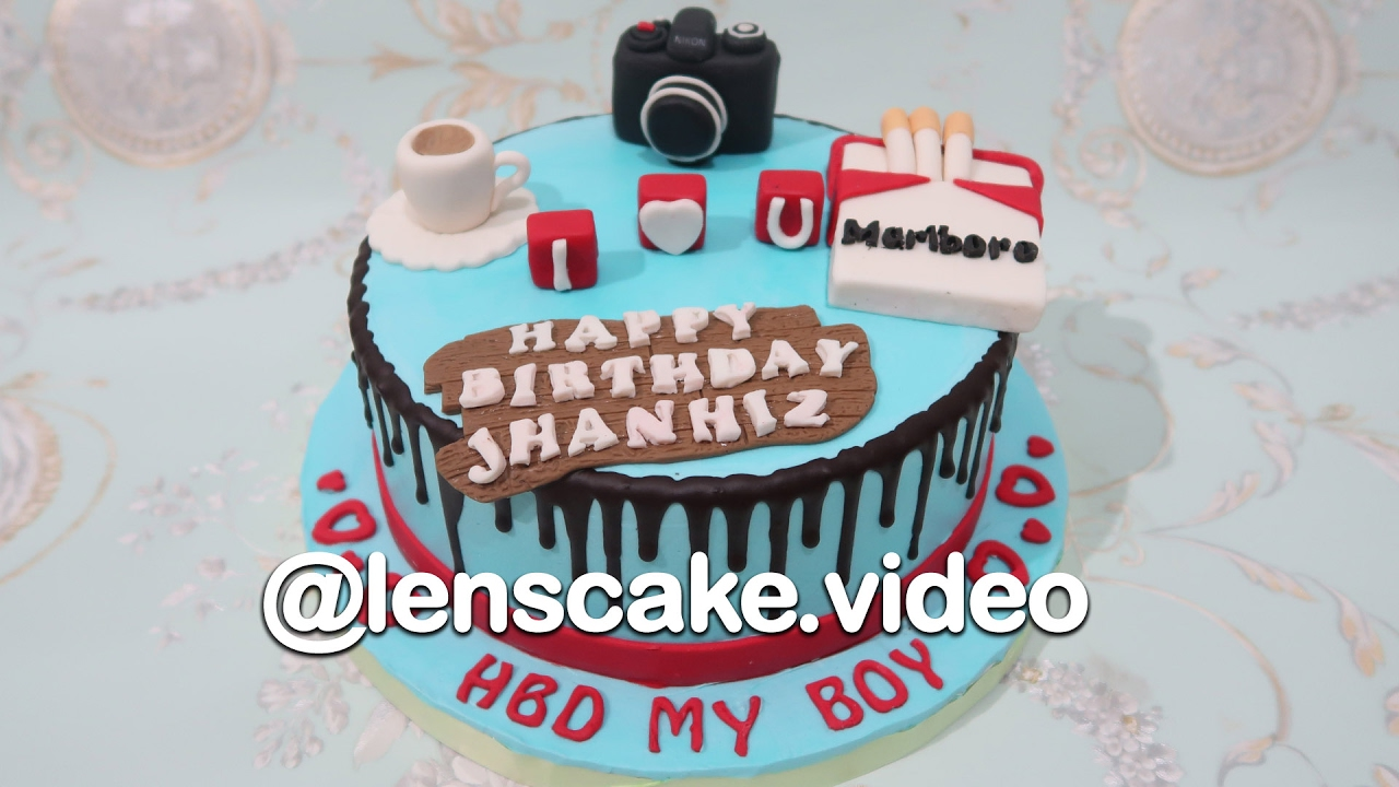 How To Make Birthday Cake For Boyfriend Youtube