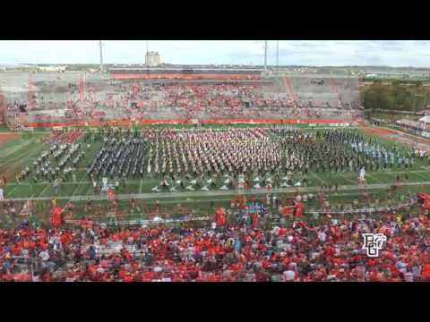 "Bowling Green State University Falcon Marching Band – ""Salute To Our Veterans""/Band Day"