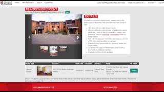 How to apply for accommodation at UoR