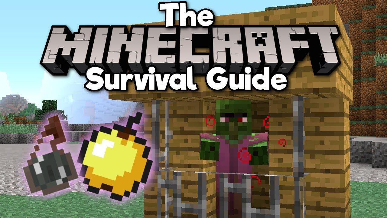How to Cure Zombie Villagers! ▫ The Minecraft Survival Guide (Tutorial Lets  Play) [Part 10]