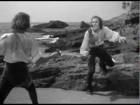 Errol Flyn/Basil Rathbone - Duel Blood/Levasseur (Captain Blood, Michael Curtiz)