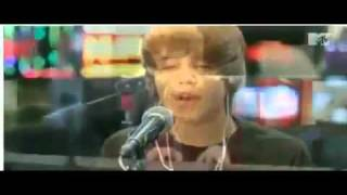 Justin Bieber - Favorite Girl Piano Version Live On Mtv.
