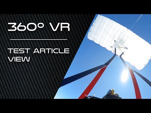 360º VR | Test Article View - Mid Air Recovery Demo