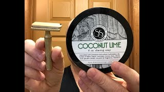 The Christopher Bradley Razor & Shannon's Soaps Coconut Lime