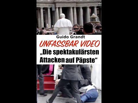 """UNFASSBAR-VIDEO: """"Die spektakulärsten Attacken auf Päpste"""""""
