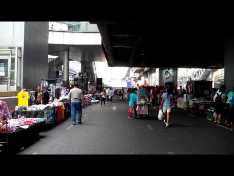 Festive Protests at Asoke Intersection Bangkok Thailand