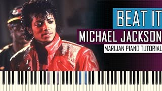 How To Play: Michael Jackson - Beat It | Piano Tutorial + Sheets