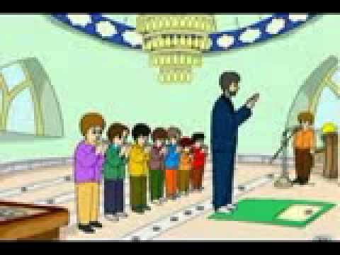 تعليم الصلاة كرتون