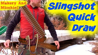 Slingshot Quick Draw Like PfShooter ( 4 Journey to Beat the Guinness world record with a slingshot)
