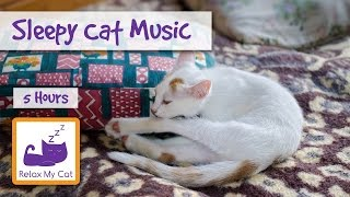 Extra Long Cat Video! Sleep Music for Cats and Kittens - 5 HOURS!