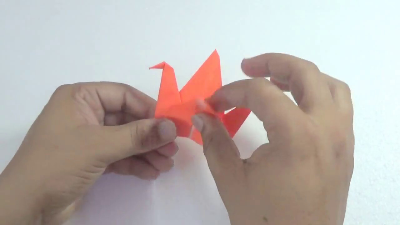 How To Make An Origami Flapping Bird Flapping Bird Animated ... | 720x1280
