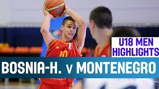 Bosnia and Herzegovina v Montenegro - Highlights – 2nd Round - 2014 U18 European Championship