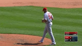 LAA@PIT: Guerra strikes out the side in order