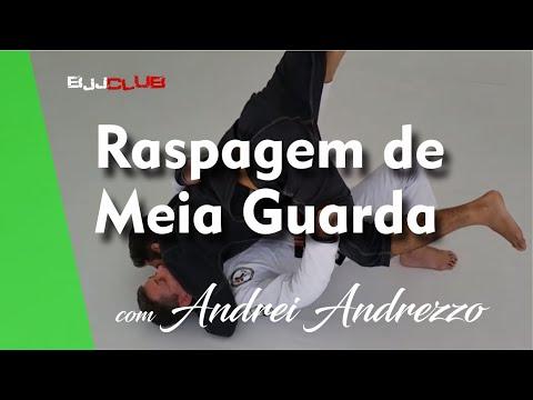 Raspagem de Meia Guarda com Andrei Andrezzo - Jiu Jitsu - BJJCLUB