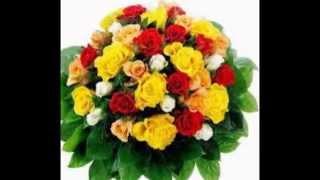Заказ букетов цветов с доставкой в Москве, СПб