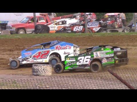BEI Lightning Series Sportsman Heat Four | Genesee Speedway | 6-23-18